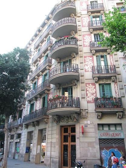 Edificios de caracoles