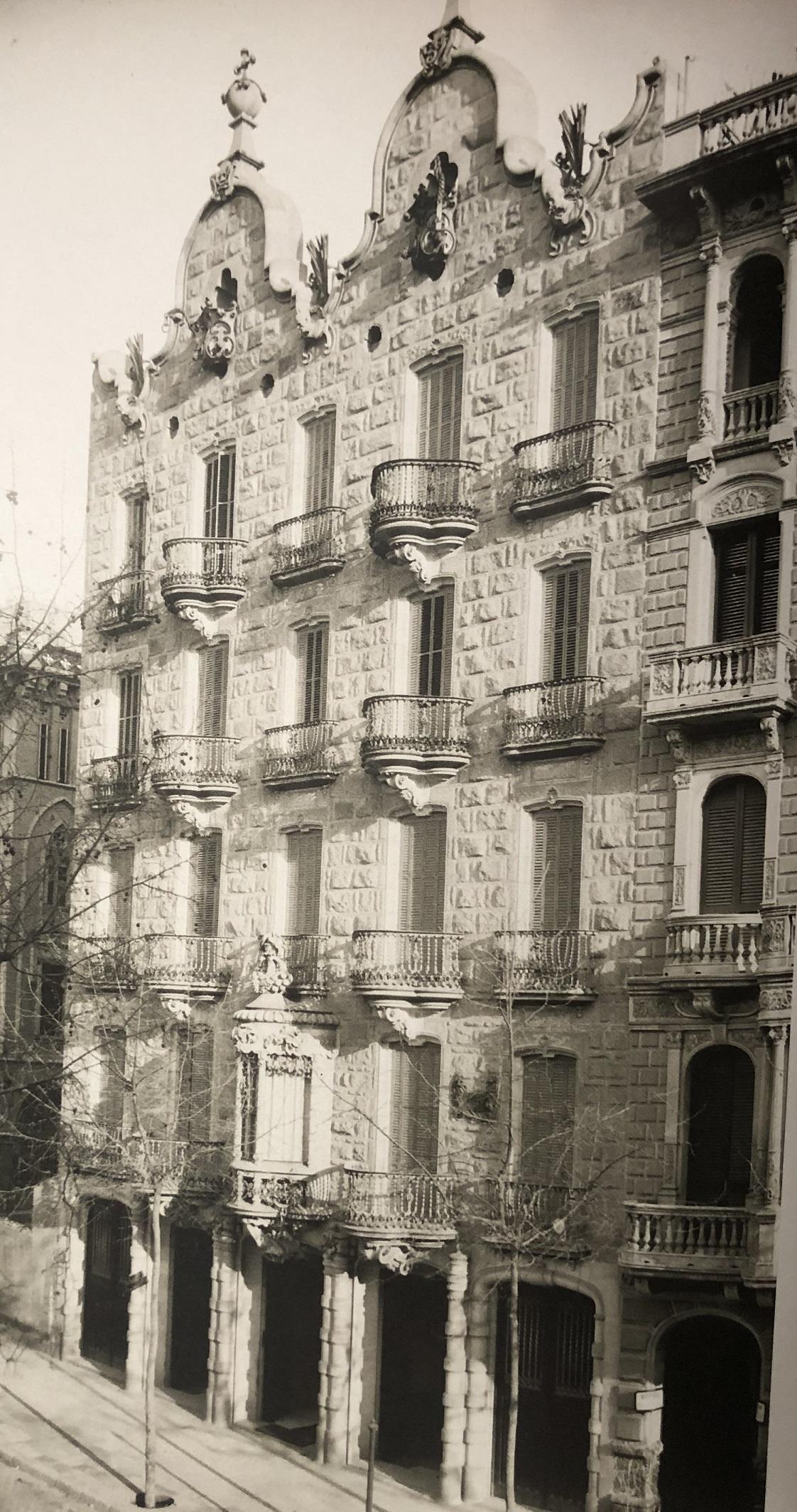 La casa Calvet y Gaudí
