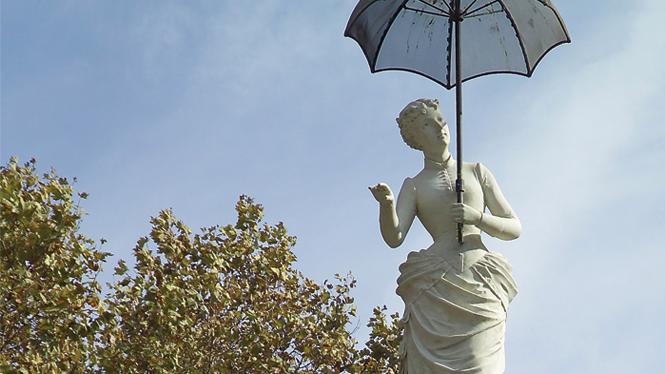 La Dama del paraguas