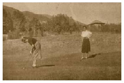 Primer campo de Golf