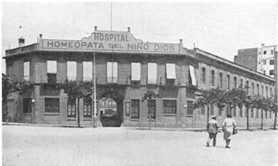 Hospital Homeopático y de monjas