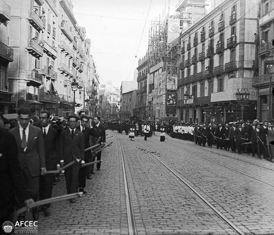La muerte de Gaudí