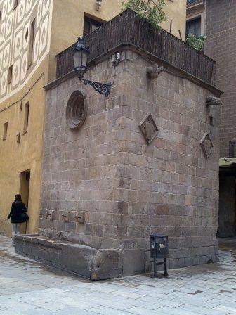 La fuente de Santa Maria del Mar