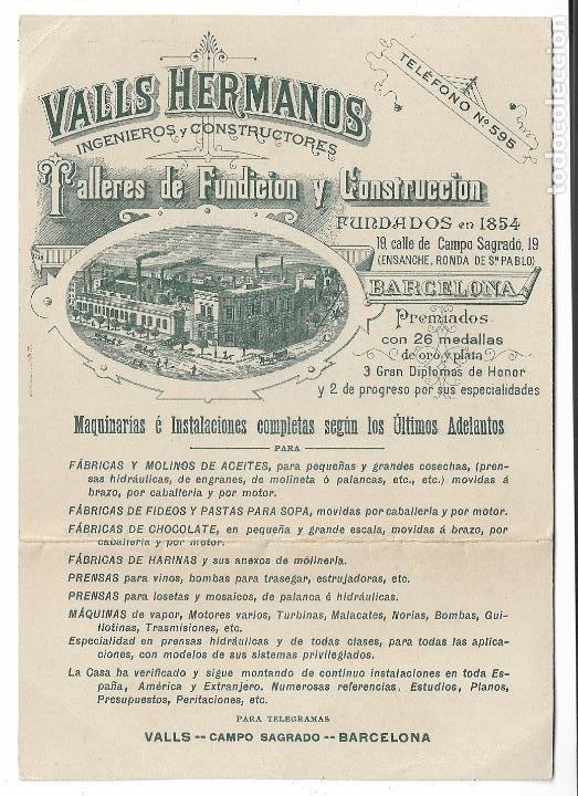 Valls Hermanos y la pasta